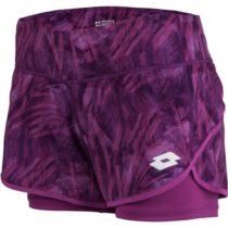 Lotto TOP TEN SHORT PRT PL fialová XL - Dámske šortky