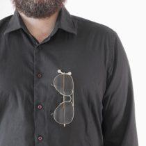 Magnetický držiak na okuliare (2 kusy)