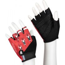 Maloja PLASCH M červená L - Cyklistické rukavice