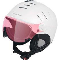 Mango VOLCANO VIP biela (59 - 61) - Dámska  lyžiarska prilba s priezorom