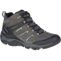 Merrell OUTMOST MID VENT GTX šedá 10 - Pánska outdoorová obuv