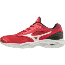 Mizuno WAVE PHANTOM 2 červená 11.5 - Pánska halová obuv