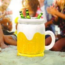 Nafukovací pohár na pivo