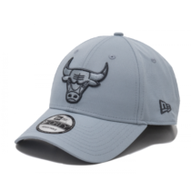 New Era 9FORTY NBA WINTER CAMO CHICAGO BULLS modrá  - Pánska klubová šiltovka