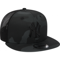 New Era 9FIFTY MLB ESSENTIAL NEW YORK YANKEES TRUCKER CAP tmavo šedá S/M - Pánska klubová šiltovka