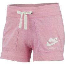 Nike NSW GYM VNTG SHORT svetlo ružová L - Dámske šortky