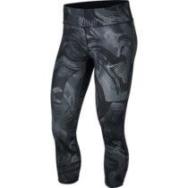 Nike ESSNTL CROP PR čierna XL - Dámske bežecké legíny