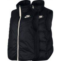 Nike NSW WR DWN FILL VEST REV biela XS - Dámska obojstranná vesta