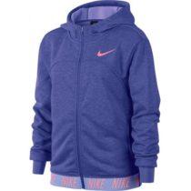 Nike DRY HOODIE FZ STUDIO modrá XS - Dievčenská športová mikina