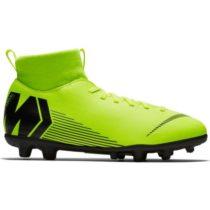 Nike JR MERCURIAL SUPERFLY 6 CLUB MG zelená 1Y - Detské kopačky