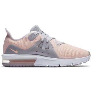 Nike AIR MAX SEQUENT 3 GS ružová 6Y Detská bežecká obuv
