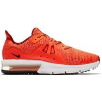 Nike AIR MAX SEQUENT 3 GS červená 3.5Y - Chlapčenská bežecká obuv