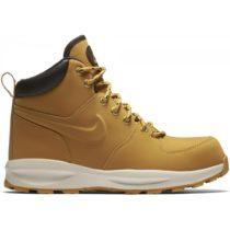 Nike MANOA LEATHER (GS) hnedá 5.5Y - Chlapčenská obuv