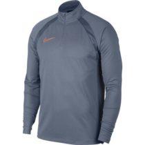 Nike DRY ACDMY DRIL TOP SMR šedá M - Pánske tričko