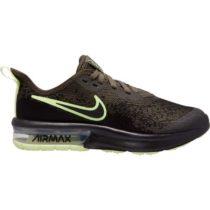 Nike AIR MAX SEQUENT 4 tmavo zelená 4.5Y - Detská voľnočasová obuv