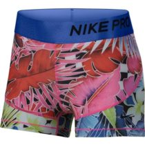 Nike NP HYP FM SHORT 3IN ružová XL - Dámske šortky