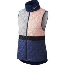 Nike AROLYR VEST W ružová L - Dámska bežecká vesta