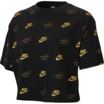 Nike NSW TOP SS CROP BFF SHINE W čierna M - Dámsky top