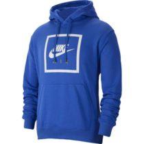 Nike NSW PO HOODIE NIKE AIR 5 M modrá L - Pánska mikina