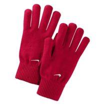 Nike KNITTED GLOVES červená XS/S - Pletené rukavice