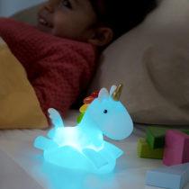 Nočná LED lampička Jednorožec