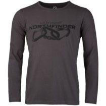Northfinder CLIMB hnedá L - Pánske tričko