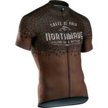 Northwave CAFFE AL VOLO hnedá L - Pánsky cyklistický dres