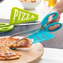 Nožnice s lopatkou na pizzu