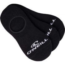 O'Neill FOOTIE 3PK čierna 43 - 46 - Unisex ponožky