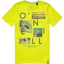 O'Neill LB NEOS S/SLV T-SHIRT žltá 176 - Chlapčenské tričko