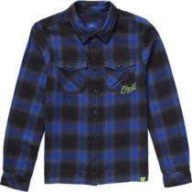 O'Neill LB VIOLATOR FLANNEL SHIRT tmavo modrá 176 - Detská košeľa