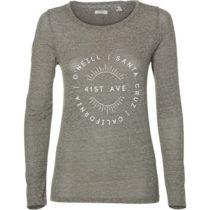 O'Neill LW FREEDOM LONG SLEEVE T-SHIRT šedá XS - Dámske tričko