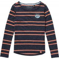 O'Neill LG MOUNTAIN GAZE L/SLV T-SHIRT tmavo modrá 152 - Dievčenské tričko