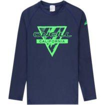 O'Neill PB LONG SLEEVE SKINS tmavo modrá 8 - Detské kúpacie tričko s UV filtrom