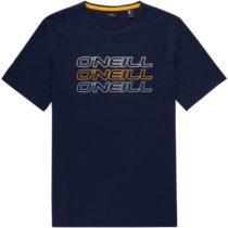 O'Neill LM TRIPLE LOGO O'NEILL T-SHIRT tmavo modrá XL - Pánske tričko