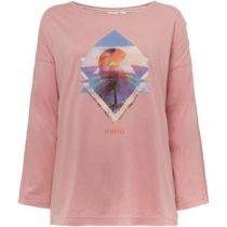 O'Neill LW KALANI L/SLV T-SHIRT svetlo ružová L - Dámske tričko s dlhým rukávom