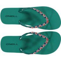 O'Neill FW PRINTED STRAP FLIPFLOP zelená 36 - Dámske žabky