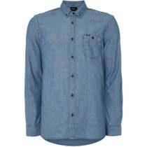 O'Neill LM CHAMBRAY L/SLV SHIRT modrá XL - Pánska košeľa