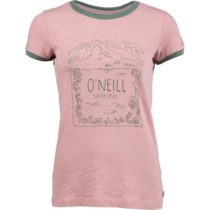 O'Neill LW AUDRA T-SHIRT ružová S - Dámske tričko