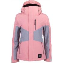 O'Neill PW CORAL JACKET ružová L - Dámska lyžiarska/snowboardová bunda