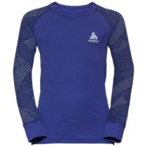 Odlo BL TOP CREW NECK L/S ACTIVE WARM TREND K fialová 164 - Detské tričko