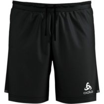 Odlo 2 IN 1 ZEROWEIGHT čierna XL - Pánske šortky