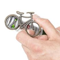 Otvárač na fľaše bicykel