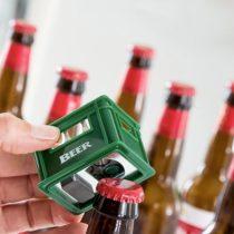 Otvárač na fľaše prepravka piva