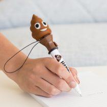 Pero s vystreľovacím hovienkom