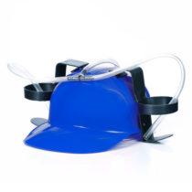 Pivná helma - modrá