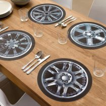 Podložka pod tanier koleso s diskom