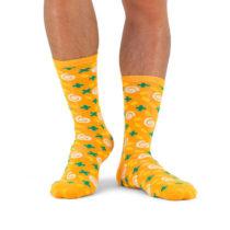 Polievkové ponožky - mrkva a koriander
