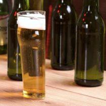 Polovičný pohár na pivo