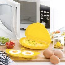 Pomôcka na vajíčka do mikrovlnnej rúry